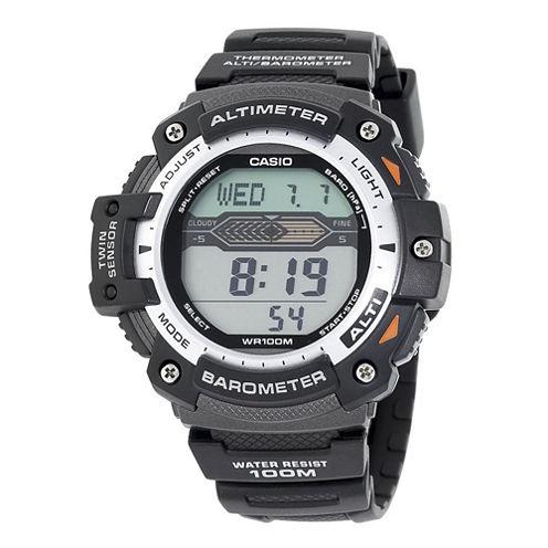 Casio® Twin Sensor Mens Altimeter/Barometer Digital Sport Watch SGW300H-1AVCF