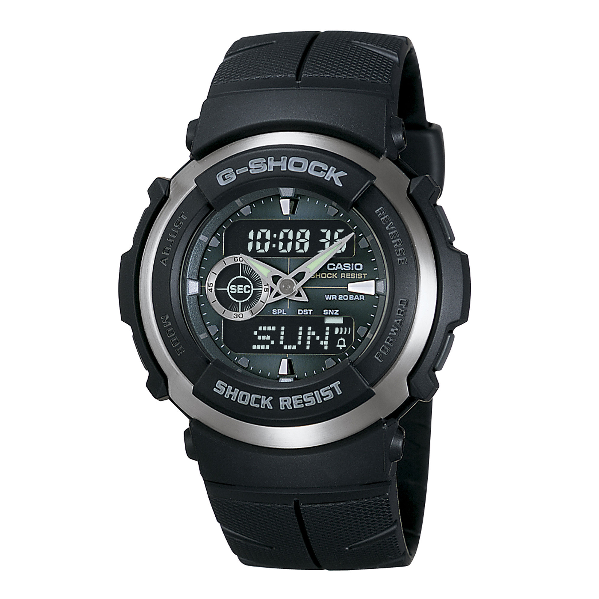 Casio G-Shock Street Rider Mens Analog/Digital Sport Watch G300-3AV