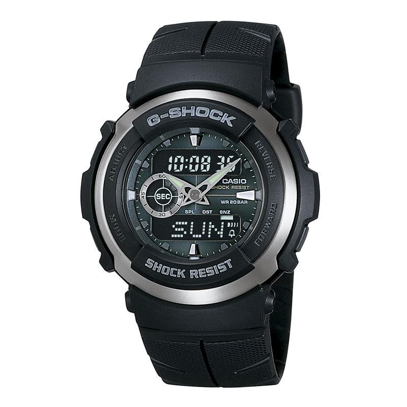 Casio G-Shock Street Rider Mens Analog/Digital Sport Watch G300-3AV