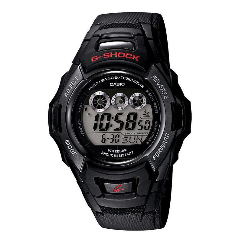 Casio G-Shock Tough Solar Mens Atomic Timekeeping Digital Sport Watch GWM530A-1