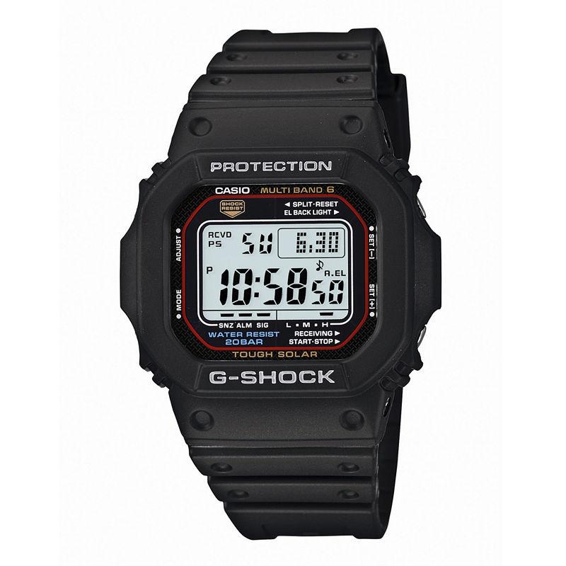 Casio G-Shock Tough Solar Mens Atomic Timekeeping Chronograph Watch GWM5610-1CR