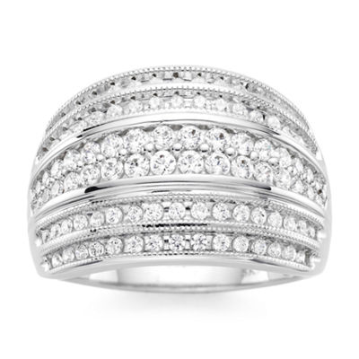 1 CT. T.W. Diamond 10K White Gold Ring