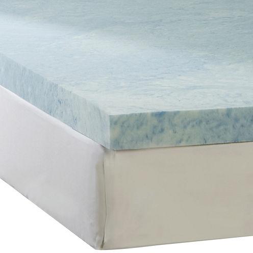 """Comforpedic from Beautyrest® 3"""" Gel Memory Foam Topper"""