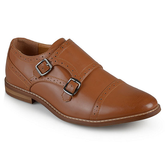 8344316dfc61f Vance Co Mens Wayne Loafers Buckle Round Toe - JCPenney