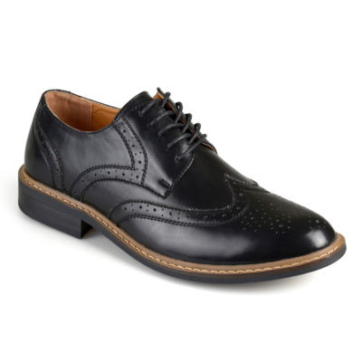 Vance Co Mens Butch Oxford Shoes Lace-up Round Toe
