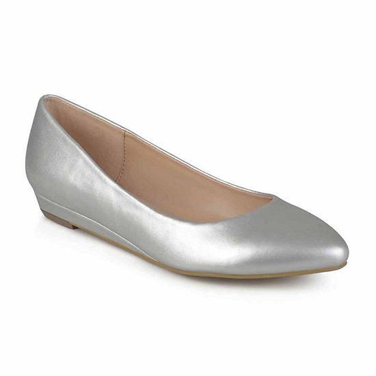 Journee Collection Womens Ballet Flats Slip-on Round Toe