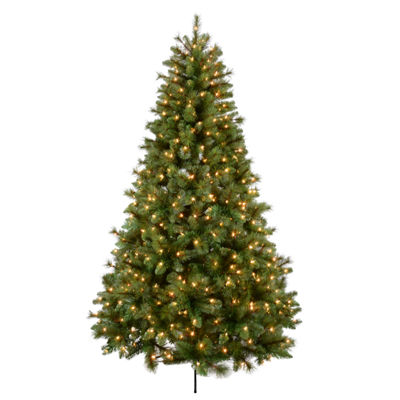 7.5 Ft. Bavarian Mixed Pine Tree With 650 Ul Lights