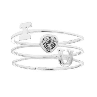 Itsy Bitsy Womens Stackable Ring