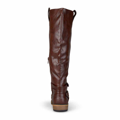 Journee Collection Walla Extra Wide Calf Riding Boots