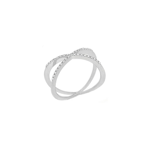 Womens Diamond Accent Genuine White Diamond 10K Gold Cocktail Ring
