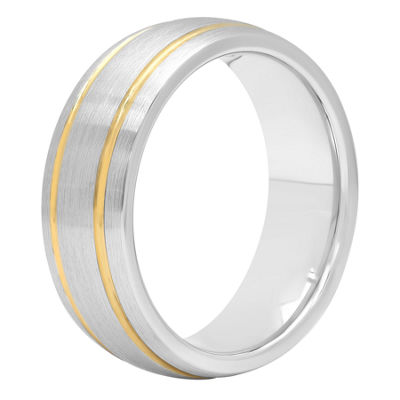 Mens 8 Mm Cobalt Wedding Band
