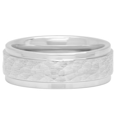 Mens Cobalt Wedding Band