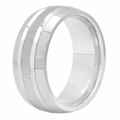 Mens 9 Mm Cobalt Wedding Band