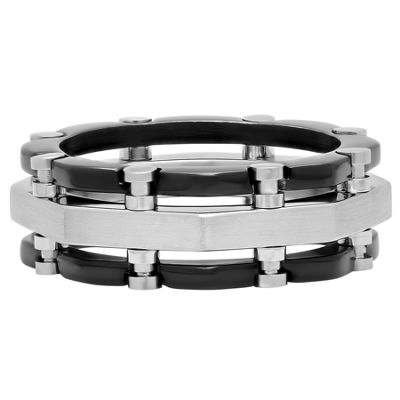Mens 9 Mm Stainless Steel Band