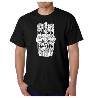 Los Angeles Pop Art Big Kahuna Short Sleeve Word Art T-Shirt