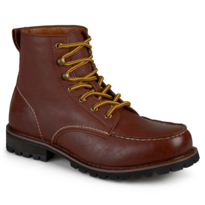 Vance Co Mens Carson Work Boots Lace-up