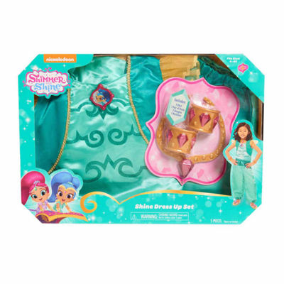 Shimmer And Shine Blue Dress Up Box Set