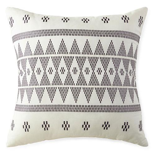 Miller Stripe Square Decorative Pillow