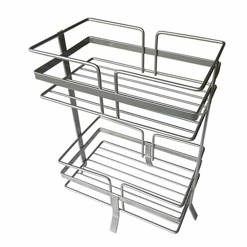 Elegant 2-Compartment Shower Caddy