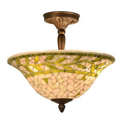 Dale Tiffany™ Cadena Mosaic Flush Mount
