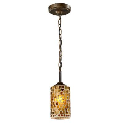 Dale Tiffany™ Knighton Mosaic Mini Pendant