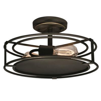 Dale Tiffany™ LED Peter Semi Flush Mount