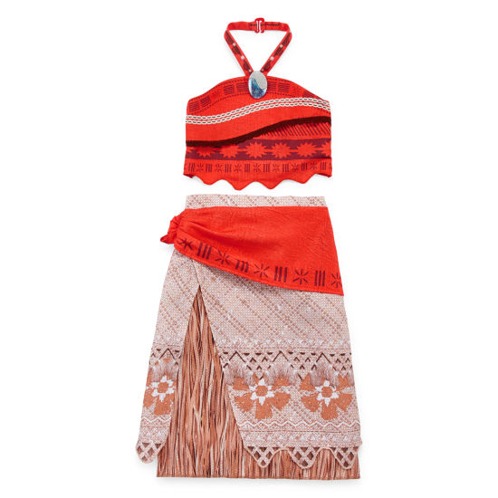 Disney Girls Moana Dress Up Costume