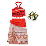 Disney Collection Girls Moana Dress Up Halo