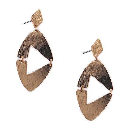 Bijoux Bar Metal Drop Earrings