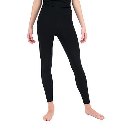 Terra Mar Thermapeak Base Layer Womens Thermal Pajama Pants, Medium , Black