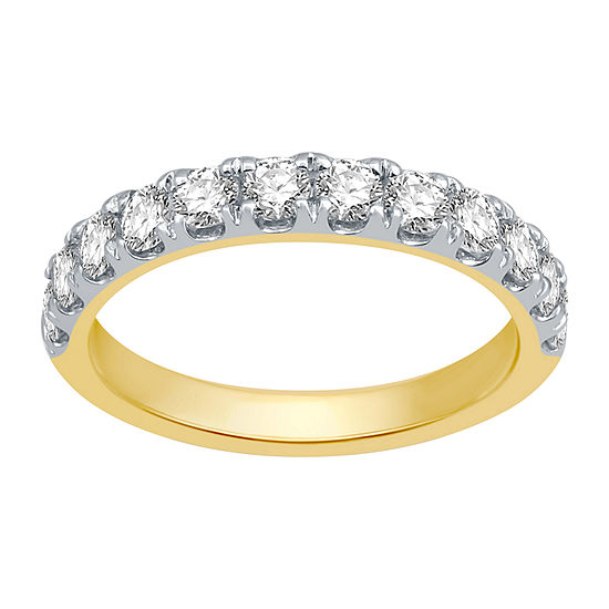Ever Star 3MM 1 CT. T.W. Lab Grown White Diamond 10K Gold Band