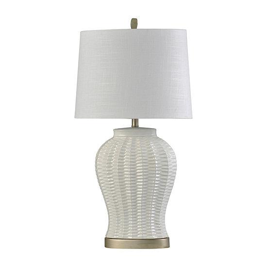 Stylecraft 18 X 18 Table Lamp Ceramic Table Lamp
