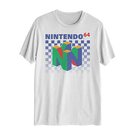 Video Game Mens Crew Neck Short Sleeve Graphic T-Shirt