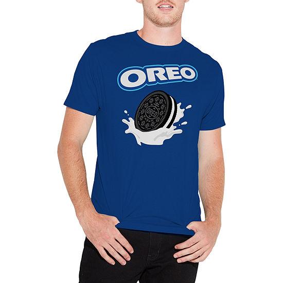 Oreo Mens Crew Neck Short Sleeve Graphic T-Shirt