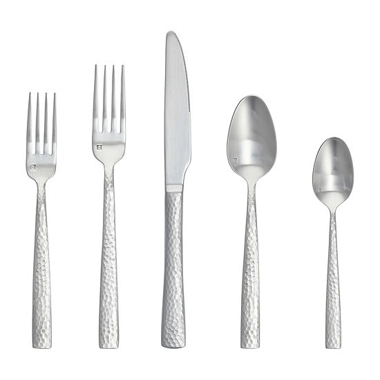 Crafthouse By Fortessa Rambla 20-pc. 18/10 Stainless Steel Flatware Set