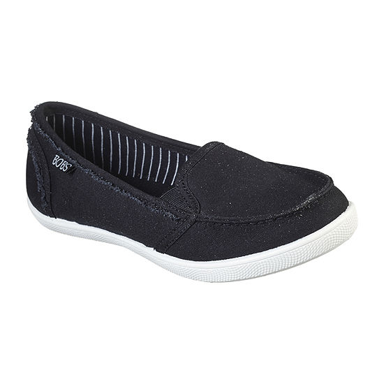 Skechers Bobs Womens Slip-On Shoe