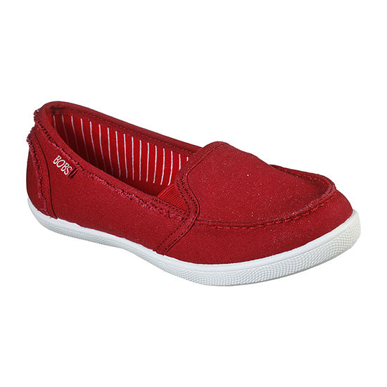 Skechers Bobs Womens Slip-On Shoe