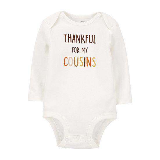 Carter's Thanksgiving Baby Unisex Bodysuit