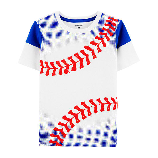 Carter's Toddler Boys Round Neck Short Sleeve Graphic T-Shirt