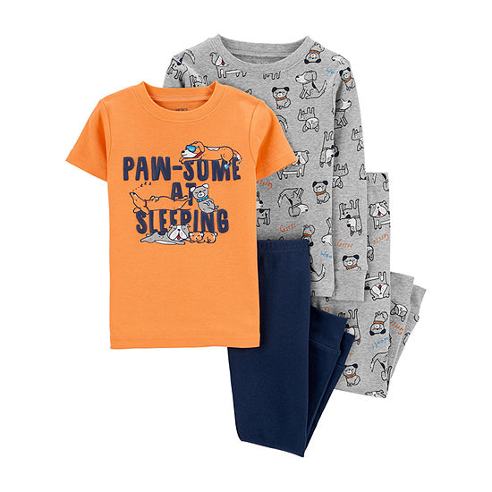 Carter's Toddler Boys 4-pc. Pajama Set