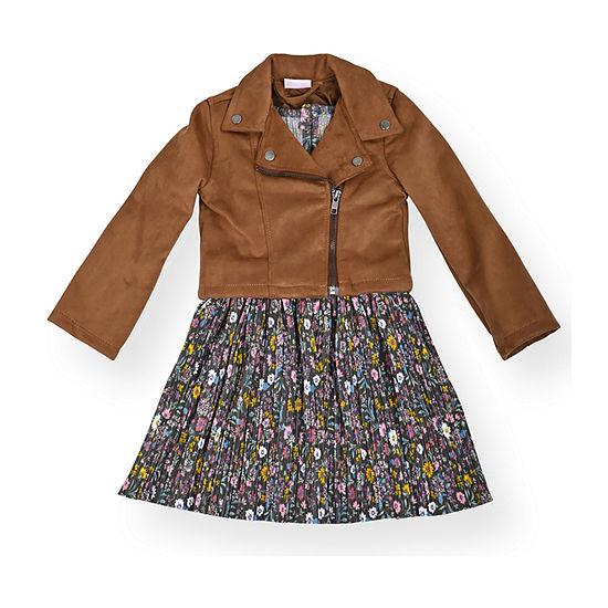 Nannette Baby Toddler Girls Sleeveless 2-pc. Dress Set