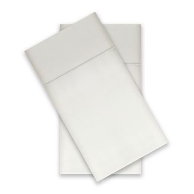 Wrinkle Guard 400TC Cotton 2-Pack Pillowcase