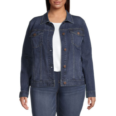 a.n.a Midweight Denim Jacket-Plus