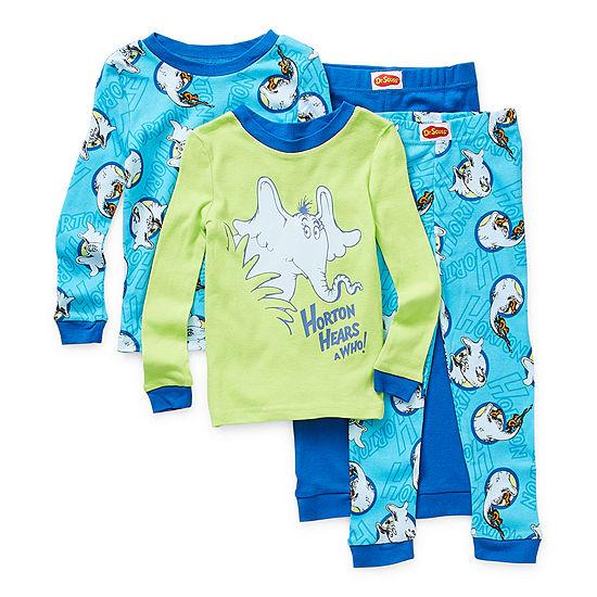 Toddler Boys 4-pc. Dr. Seuss Pajama Set