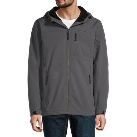 IZOD Midweight Softshell Jacket, Medium , Black
