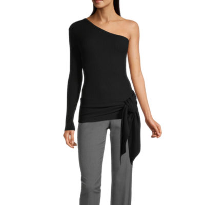 Worthington Womens Long Sleeve Pullover Sweater