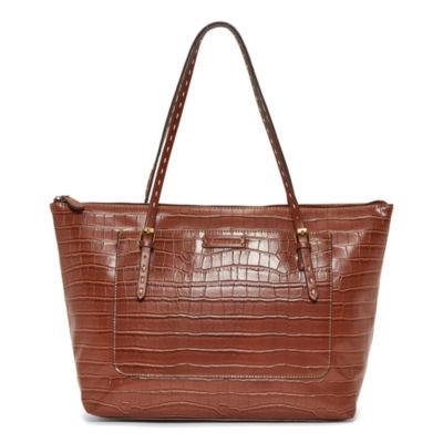 St. John's Bay Croc Westport Tote Bag