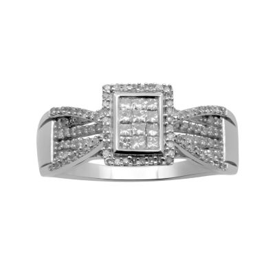 ½ CT. T.W. Diamond Bridal Ring