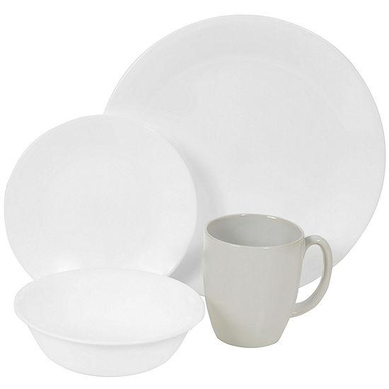 Corelle Livingware 16 pc Winter Frost Dinnerware Set