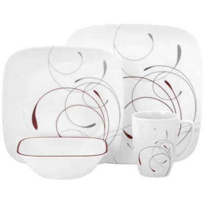 Corelle® Square™ Splendor 16-pc. Dinnerware Set  sc 1 st  JCPenney & Corelle Square Splendor 16 pc Dinnerware Set